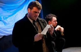 Damien Tracey and Gregory Finnegan in The Ones Who Kill Shooting Stars