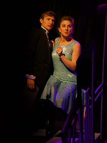 James Marlowe and Holly Blair as Ramble and Eugenia