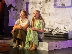 Lizzie Wofford and Francesca Benton-Stage as Ruth and Eileen